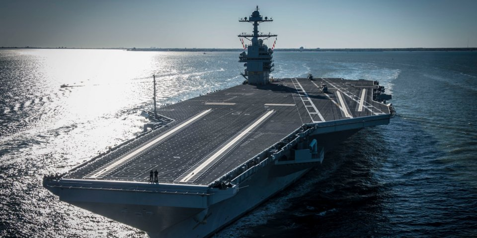 united states navy plans to buy two aircraft carriers together