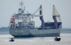 General cargo ship Vectis Osprey hijacked by pirates in Gulf of Guinea