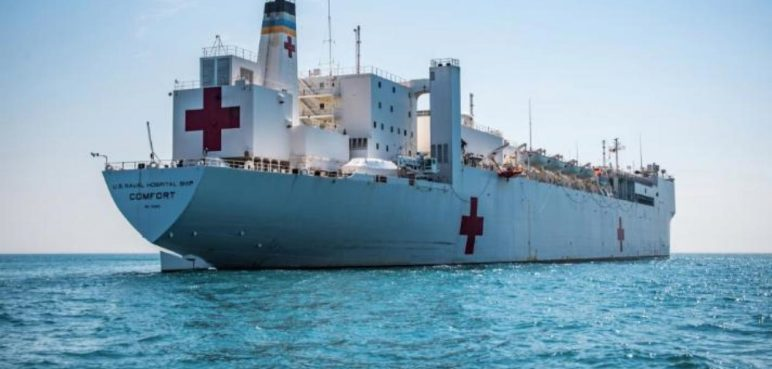 Venezuelans Who Fled The Crisis Are Getting Assistance From US Navy Hospital Ship