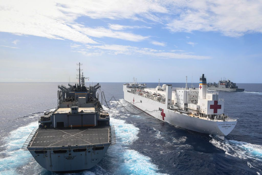 What Does the Ship USNS Comfort for Which Evo Morales Accused the US? To Make a Covert Invasion of Venezuela?