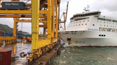 Wind Gusts Influenced the Ferry Crash in the Port of Barcelona