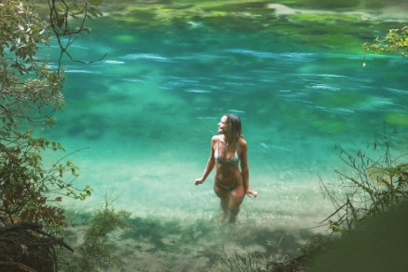 Woman Attacked Online For Swimming in an Environmentally Protected Prohibited Water Source
