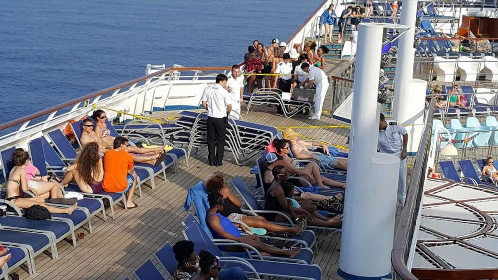 Search continues for woman who fell overboard on Carnival Cruise