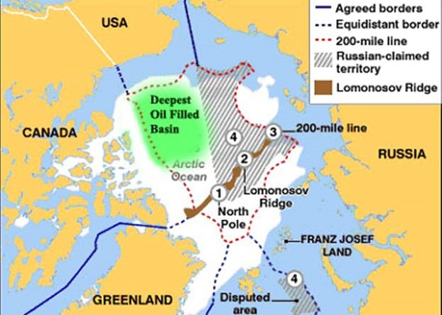Russia claims the application for expansion of Danish borders in the