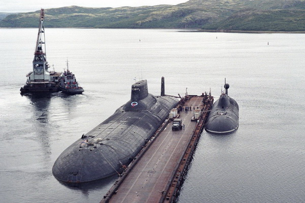 disposal of worlds two largest submarines