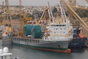 heavy lift vessel Maria