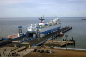 port of Kuryk ferry