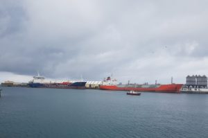 Tankers accident Ceuta