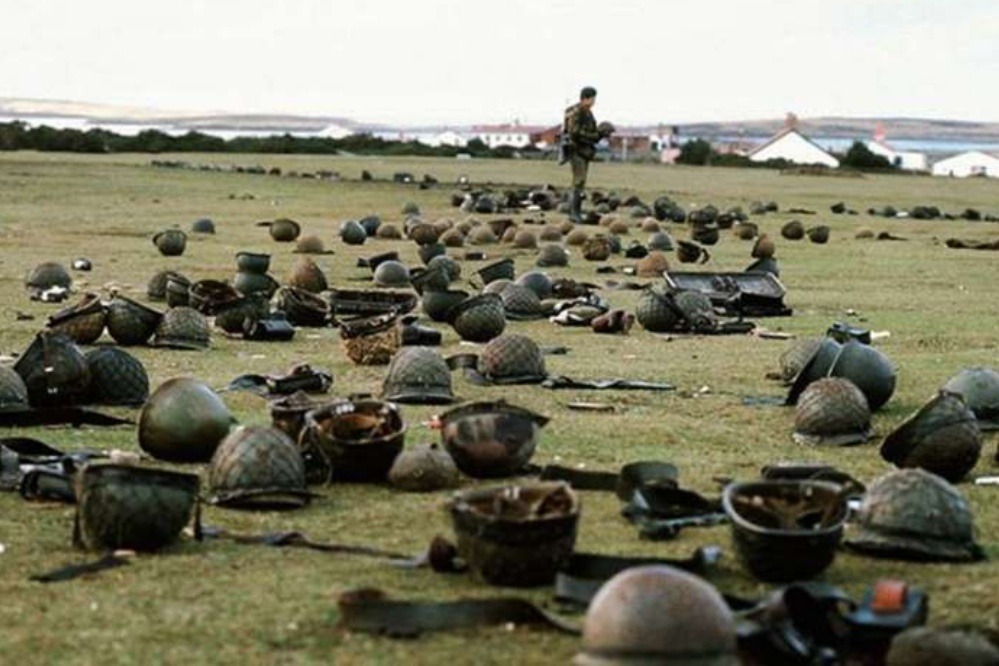 the day the Malvinas war