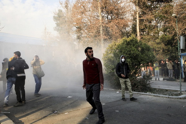 unrest in Iran is exerted on freight rates