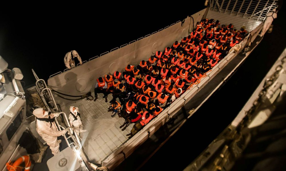 600 People Waiting At Sea for Italy Take Pity