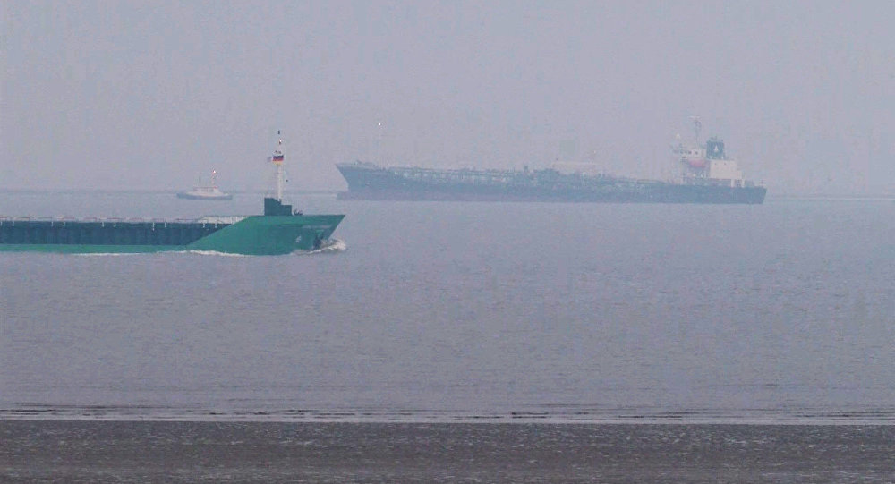 A Freighter with a Panamanian Flag Beached Off the Coast of Germany Has Been Freed