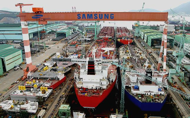 A Laps With Aid To Shipbuilding In South Korea