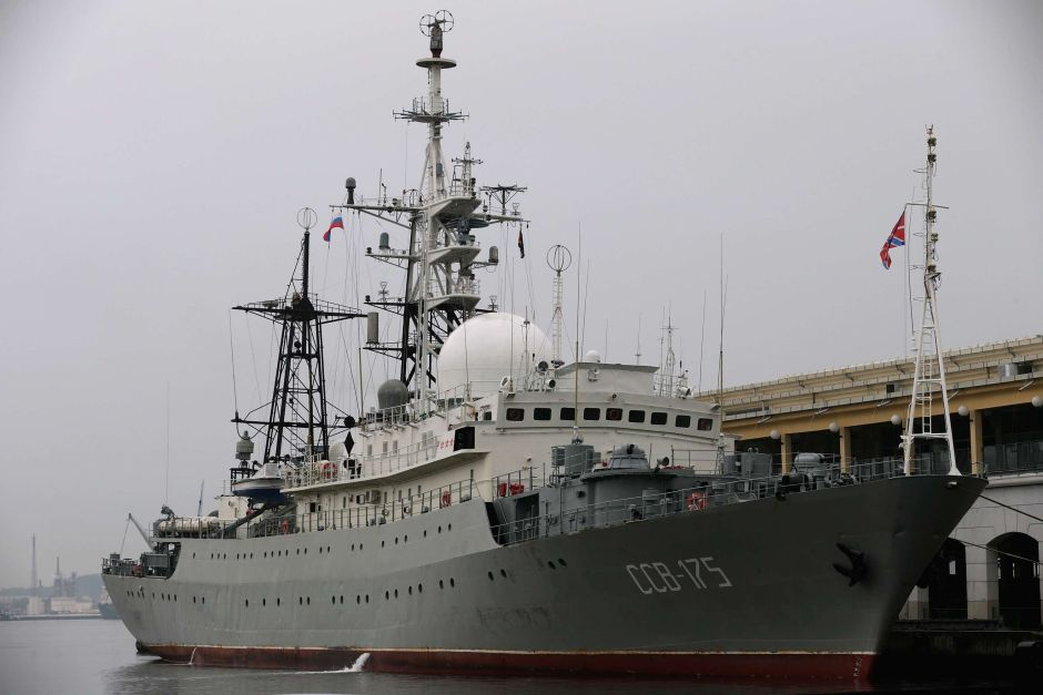 """A Russian Spy Ship Sails Off The Coast Of Florida And The Carolinas In An """"Erratic"""" And"""" Dangerous"""" Way"""