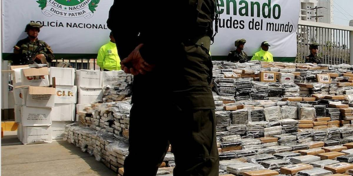 A Ton of Cocaine Seized in Cartagena On Route to the United States