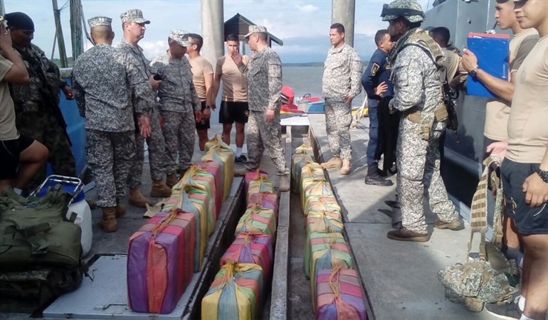 A vessel was located that drug organizations were ready to set sail with 625 kilograms of cocaine hydrochloride inside.