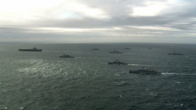 And Now ... The Fourth Fleet of the United States Remembers in a #TBT the Multinational Maritime Exercises