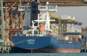 Annaba container ship