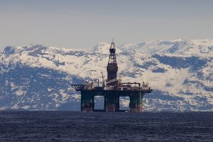 Arctic offshore oil exploration