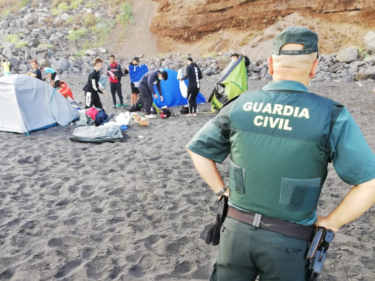 Intentionally Trying To Catch And Spread Covid-19? 62 Campers Kicked Off Beach
