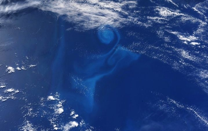 """Astronaut Takes A PHOTO And Mysterious """"Whirlpool"""" Appears In The Pacific"""