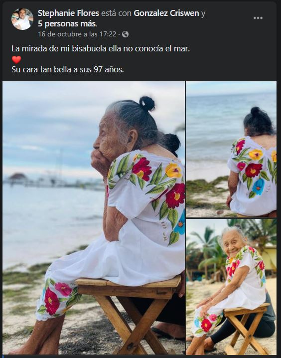 At 97 She Is Moved When She Sees The Ocean For The Very First Time