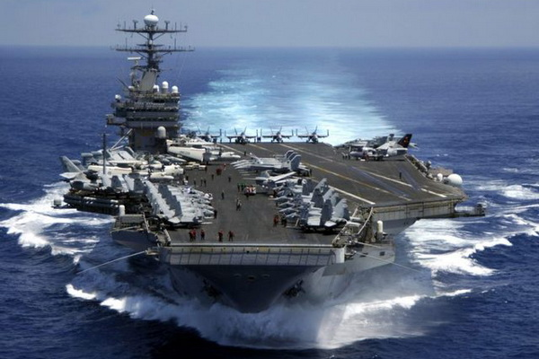 """Atomic Aircraft Carrier """"Harry Truman"""" Will Take Part in NATO Exercises Trident Juncture"""