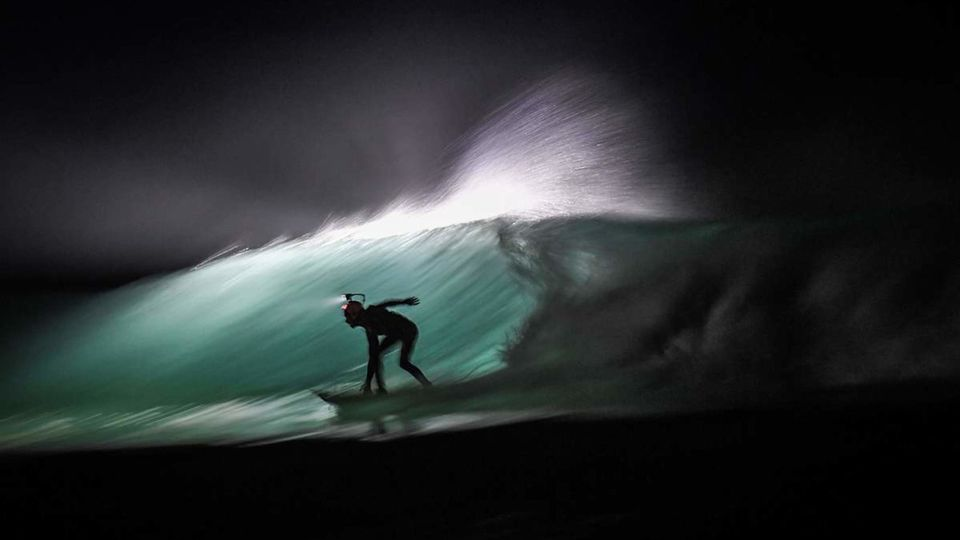 Bewitching Photos of Nocturnal Surfers