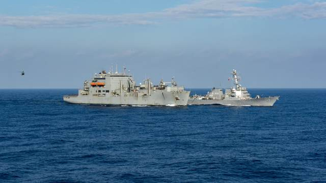 CHINA ACCUSED THE UNITED STATES OF INVADING ITS TERRITORIAL WATERS