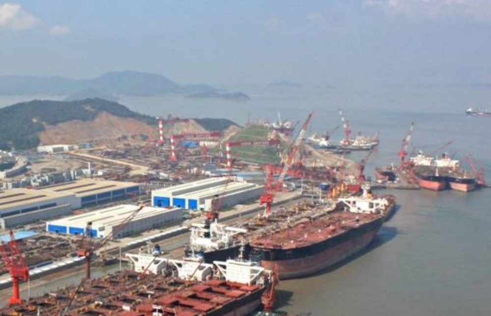 COSCO Shipping Heavy Industries close three shipyards until