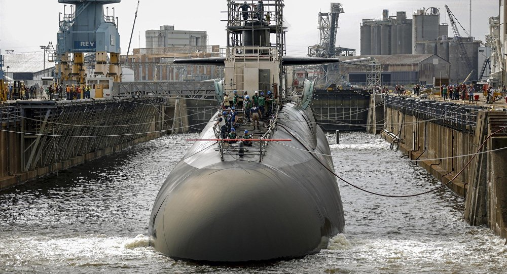 'Catastrophic Damage' is Planned at US Nuclear Submarine Shipyard