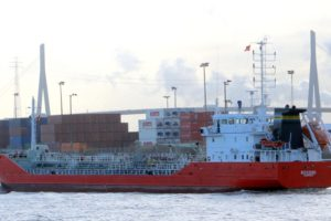 Chemical tanker Rossini