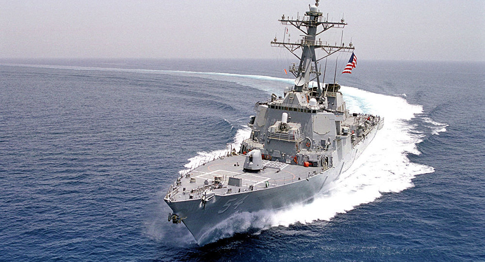 China Expresses Its Concern Against The United States For The Operation Of Warships In The Taiwan Strait