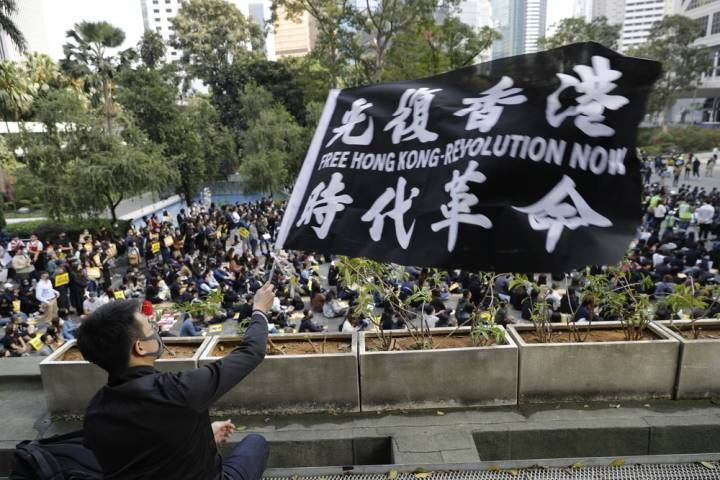 China Sanctioned The US Navy And Human Rights NGOs For Protests In Hong Kong