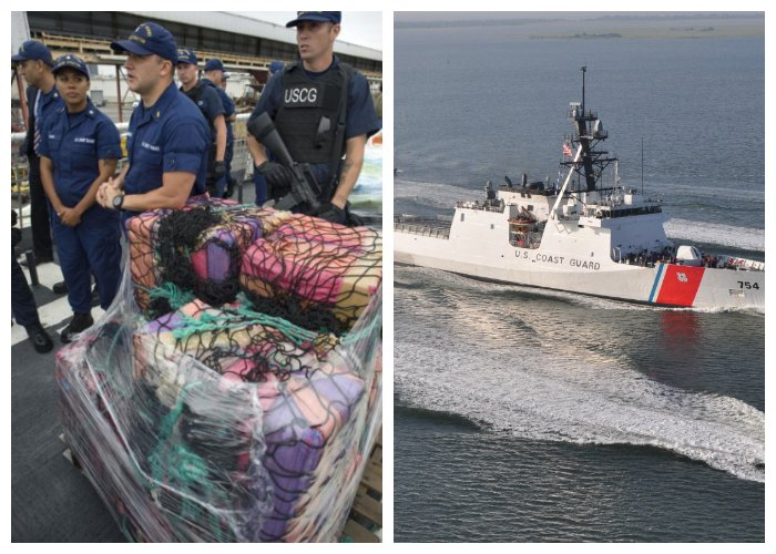 Coast Guard Finds 3.8 Million Dollars Of Cocaine Floating In The Sea