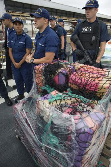Coast Guard Finds Almost 130 Kilos Of Cocaine Floating In Florida Keys