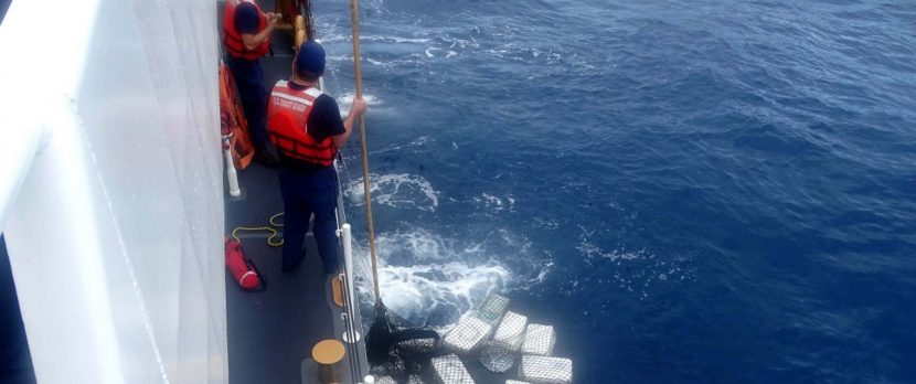 Coast Guard Seizes About $39 Million In Cocaine