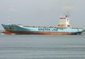 Container ship Maersk Patras