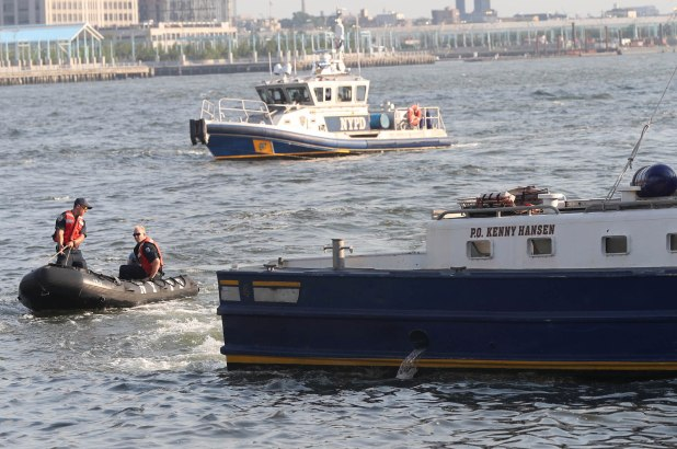 Cops ID parents of baby found floating in East River, fear dad fled the country