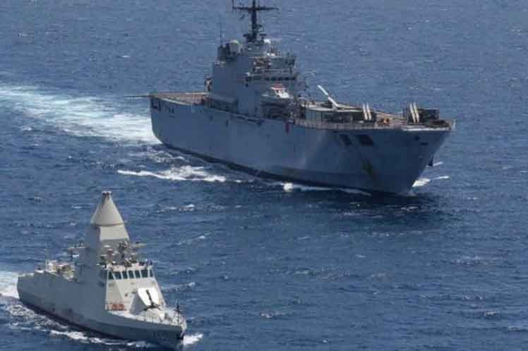 Egypt Performs Joint Naval Exercise with Countries in Europe and Asia