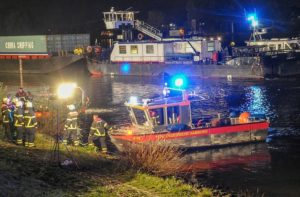 Pusher tug Elbe 1 collision