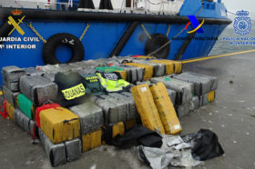 Eleven Detainees With 3,300 Kilos of Cocaine from an International Organization that Introduced the Drug in Spain