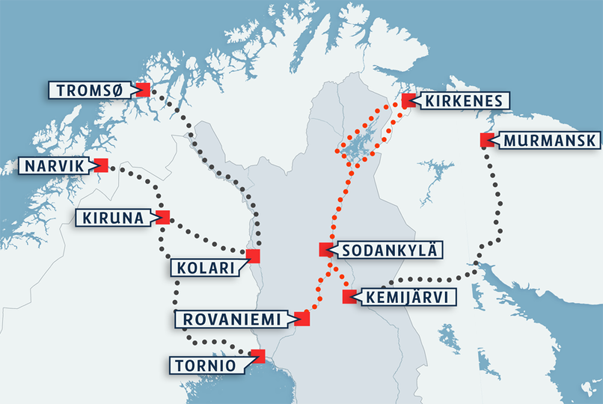 Finland and Norway in January Will Publish Proposals for the Arctic Railway
