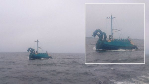 "Finnish Coast Guard Detects A ""Sea Monster"", Or Through The Fog Is It Something Else?"