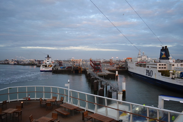 Fisherman Strike Port of Calais