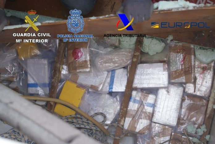 Five People Arrested With 500 Kilos Of Cocaine On A Vessel Sailing From Valencia