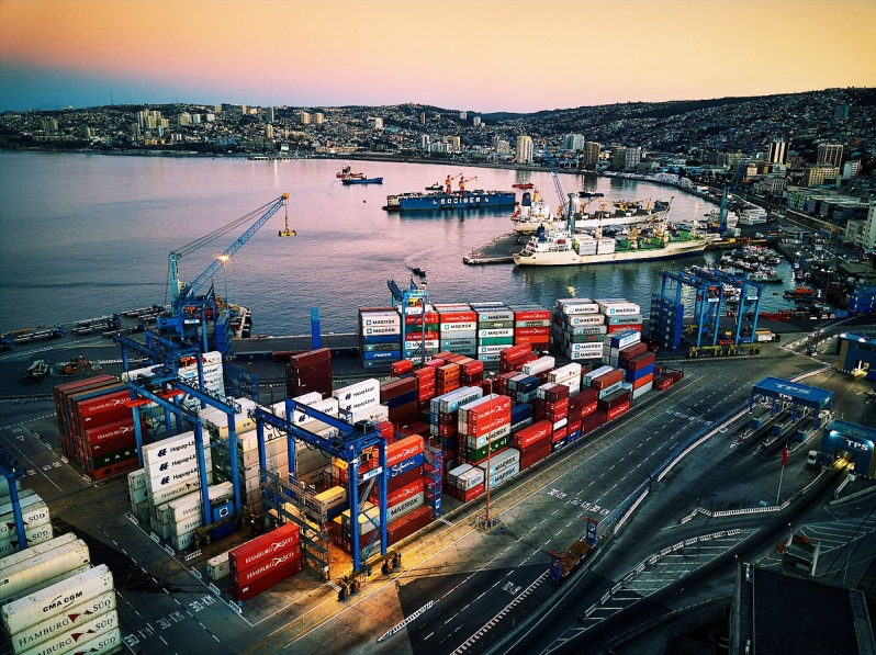 Foreign Trade Through The Ports Of Chile Decreased By 8.2% in 2019