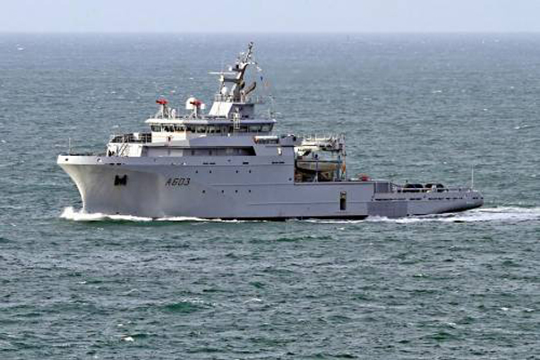 French Ship Passed the Northern Sea Route Without the Help of Icebreakers