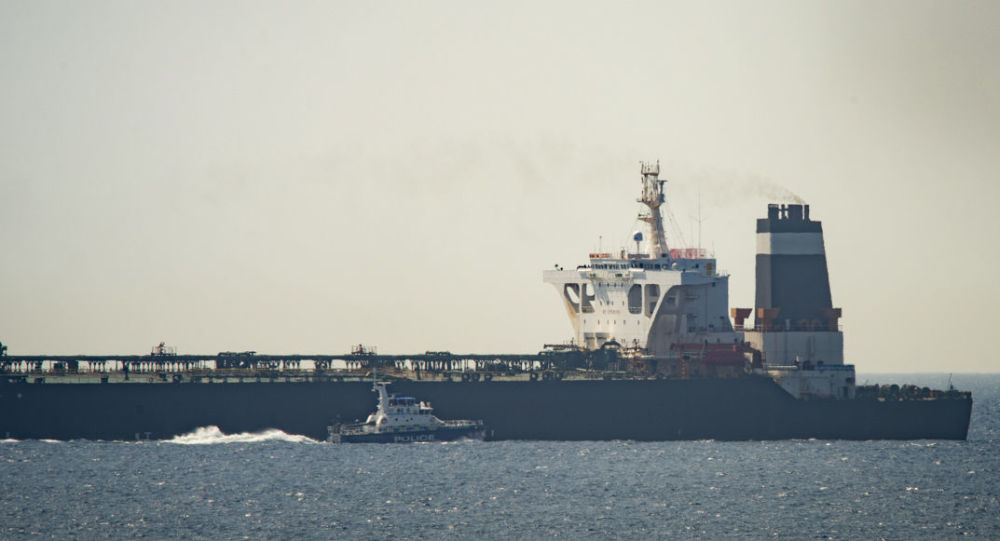 "Gibraltar Confirms That The United States Has Requested That Iran's Oil Tanker Not Be Released Due To ""A Lot Of Accusations"""
