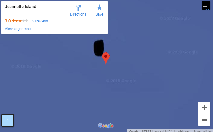 Google Erased Mysterious Russian Island From Its Maps
